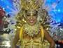 Amanda Djehdian estreia no carnaval no desfile da Gaviões: 'Maravilhoso'
