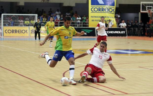 Brasil vence a Polônia por 3 a 1, em Natal (Foto: Zerosa Filho-CBFS)