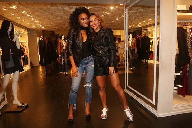 Raissa Santana e Sabrina Sato (Foto: Iwi Onodera/Brazil News)