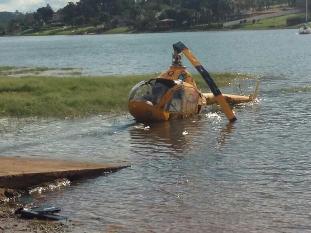 'Não tive tempo para medo', diz piloto de helicóptero que caiu em represa