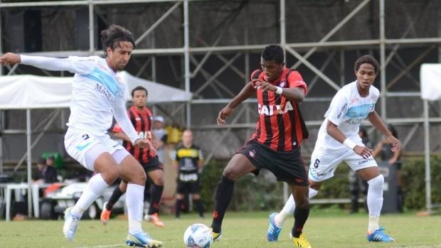 Atlético-PR Londrina empate  (Foto: Divulgação/Site oficial do Atlético-PR)