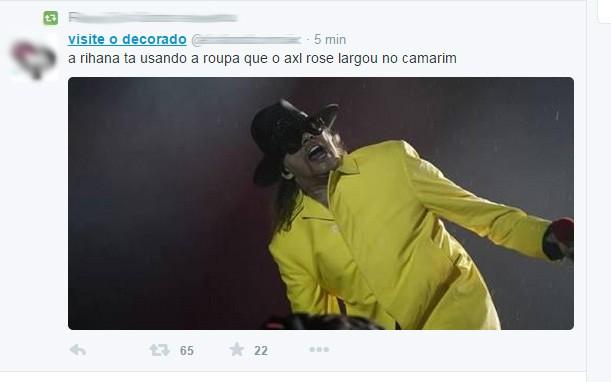 Meme Rihanna (Foto: Twitter / Reprodução)