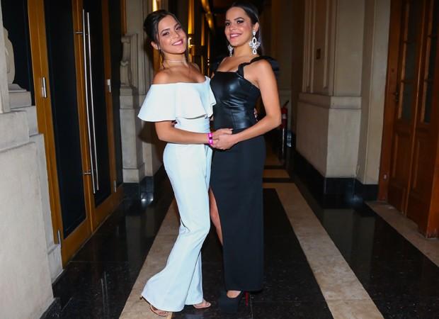 Emilly e Mayla (Foto: Manuela Scarpa/Brazil News)