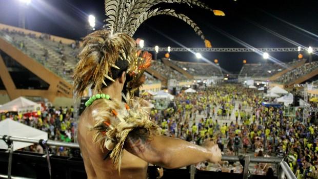 Carnaboi 2013 encerra folia de carnaval em Manaus (Marcos Dantas/G1 AM)