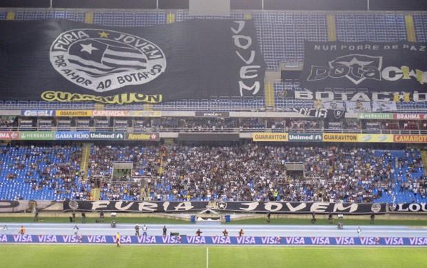 Torcida Botafogo (Foto: André Casado / Globoesporte.com)