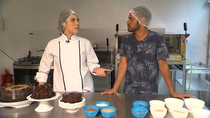 Nutricionista Raquel de Medeiros desfaz mitos sobre alimentos sem glúten (Foto: TV Bahia)