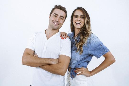 Ricardo Pereira e Marcella Fogaça - ator português participa de novo clipe de cantora mineira (Foto: Divulgação)