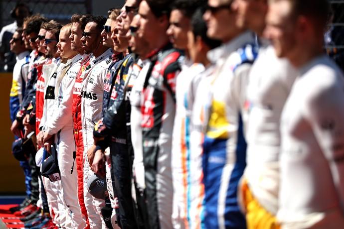 Grid da Fórmula 1 em 2016 (Foto: Getty Images)