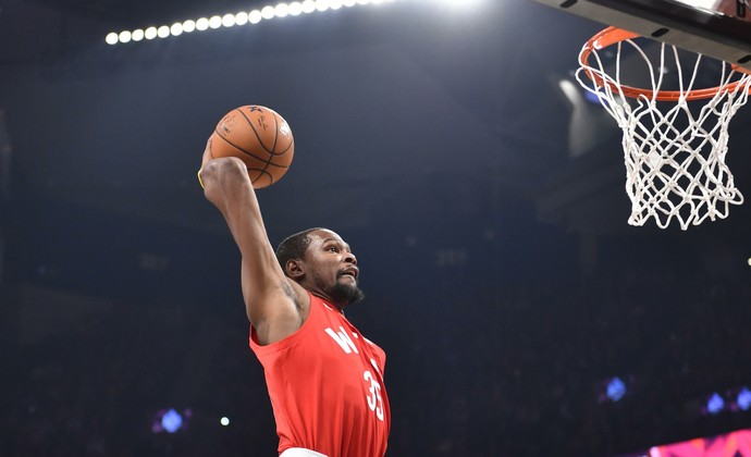 All-Star Game NBA - Kevin Durant (Foto: Reuters)