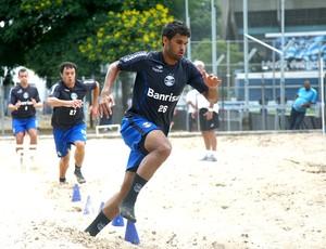 Willian José no treino do Grêmio (Foto: Rodrigo Fatturi / Site Oficial do Grêmio)