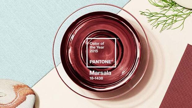 Marsala - a cor de 2015 (Foto: Divulgao Pantone)