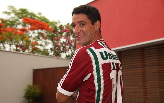 Thiago Neves Fluminense entrevista (Foto: Pedro Veríssimo / Globoesporte.com)
