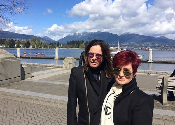Ozzy e Sharon Osbourne (Foto: Instagram)