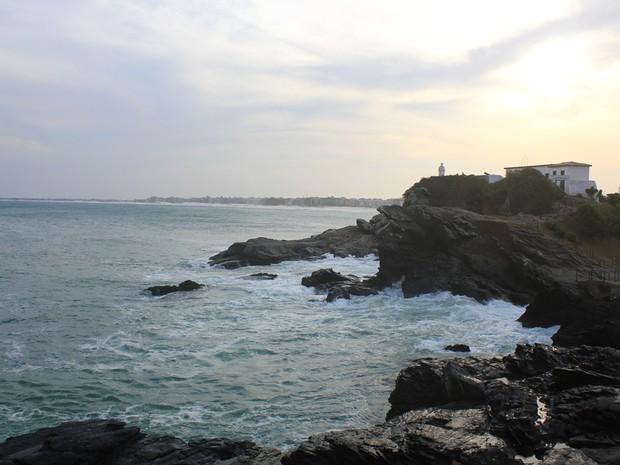 Forte São Mateus, Cabo Frio (Foto: Lia Navarro/G1)