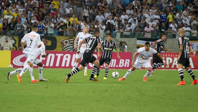 Corinthians não conseguiu levar a melhor sobre o Bragantino (Foto: André Romeu/VIPCOMM)