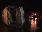 Polícia vai investigar causas do acidente que matou três na PR-537