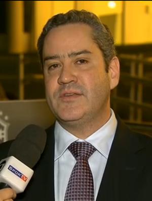 Diretor financeiro da CBF, Rogério Caboclo
