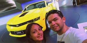 'SELFIES': internautas mandam foto com o carro preferido no Anhembi (Lucas de Lima Paixão/VC no AutoEsporte)