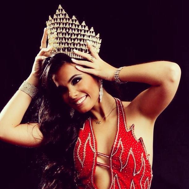 Orama Valentim, Miss Rio de Janeiro (Foto: reprodução do Facebook)