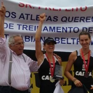 Fabiana Beltrame vence prova do Estadual (Foto: Reprodução/ Instagram)