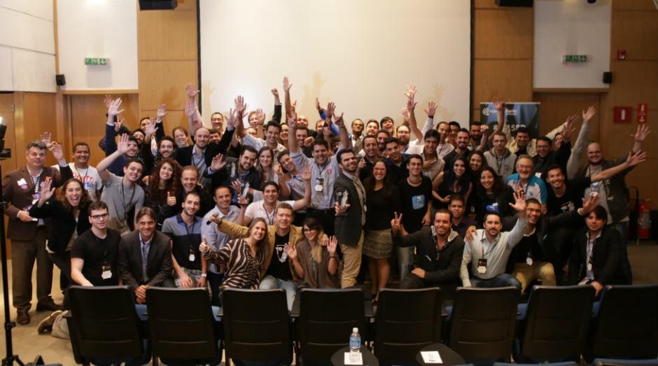 Participantes da 15ª edição do programa de aceleração da Startup Farm (Foto: Divulgação/Startup Farm)