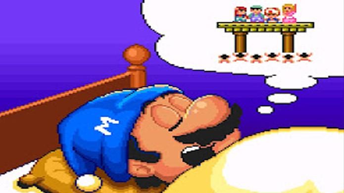 Em Super Mario Bros. 2 a aventura não passa de um sonho, já Super Mario Bros. 3 é uma peça de teatro (Foto: Reprodução/Badnix)