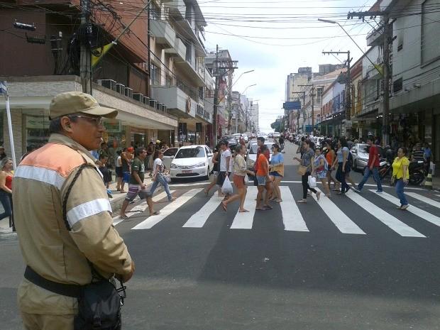 Agentes atuaram em várias zonas de Manaus (Foto: Divulgação/Manaustrans)