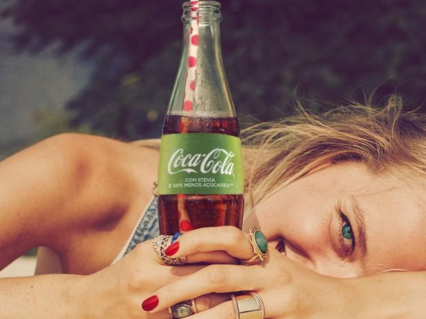 Nova versão da Coca-Cola terá menos açúcares.  (Foto: Divulgação/Coca-Cola)