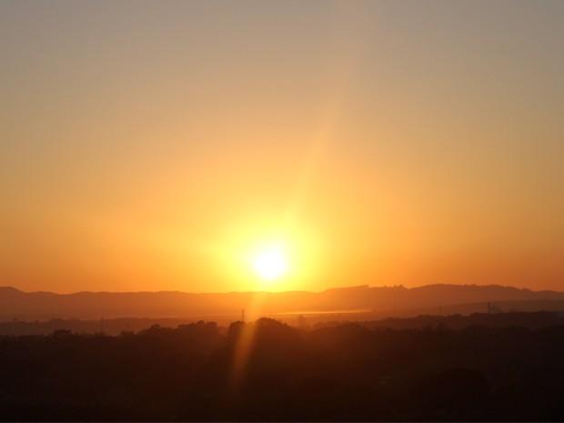 Vale do Paraíba tem janeiro mais quente e seco dos últimos 15 anos (Foto: Carlos Santos/ G1)