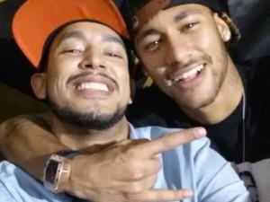 Neymar curtiu balada no mesmo local na última sexta-feira (Foto: Divulgação)