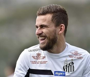 Lucas Lima Santos (Foto: Ivan Storti / Divulgação Santos FC)