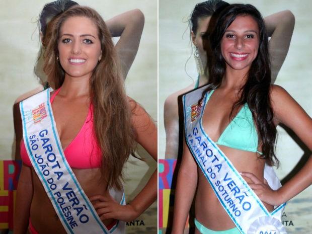 Renata Schio, 20 anos, e Vitória Rodrigues, 16 (Foto: Montagem sobre fotos de Thiago Ribeiro/Divulgação)