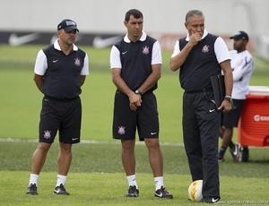 Tite treino do Corinthians (Foto: Daniel Augusto Jr. / Ag. Corinthians)