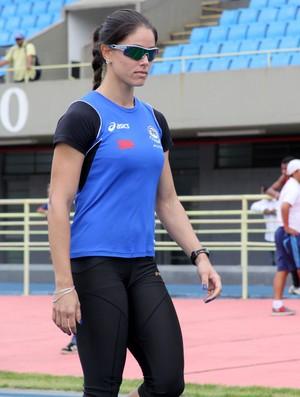 Franciela faz 2ª melhor marca nos 100m e está no Mundial (Foto: Tião Moreira/FPA)