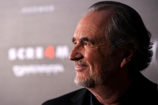 O cineasta Wes Craven em lançamento de 'Pânico 4', em 2011 (Foto: Getty Images)