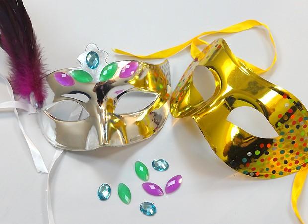 Máscaras de Carnaval (Foto: QUEM Inspira)