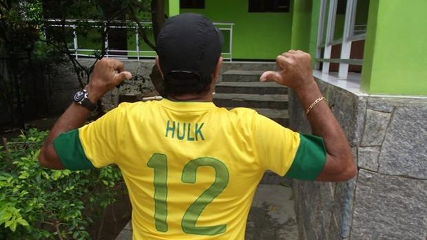 Gilvan Souza, pai do jogador Hulk (Foto: Silas Batista / Globoesporte.com/pb)