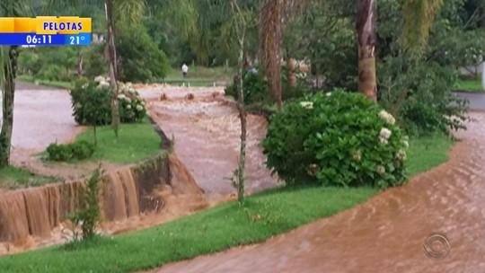 Chuva provoca transtornos em cidades do Norte gaúcho