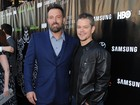 Recém-separado, Ben Affleck vai a première nos Estados Unidos