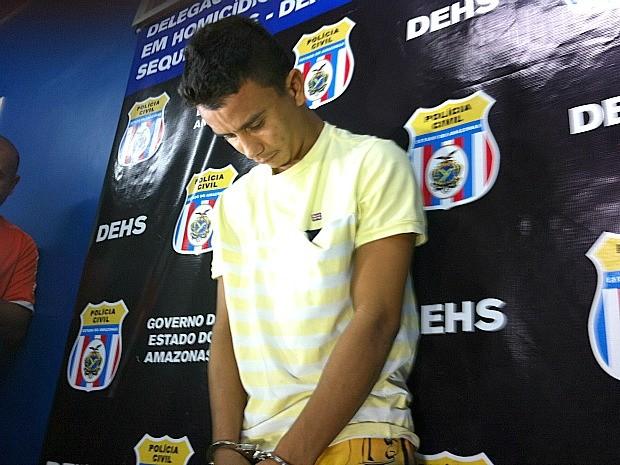 Edilmar Figueiredo Ribeiro foi preso após morte de um mulher e um jovem  (Foto: Ive Rylo/G1 AM)