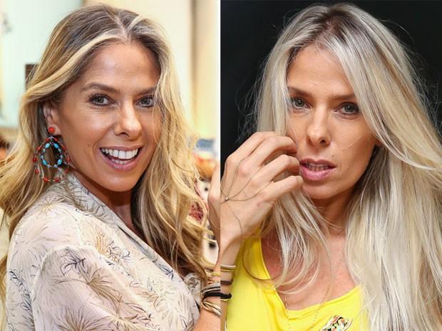 O antes e o depois de Adriane Galisteu (Foto: Manuela Scarpa/ Brazil News)