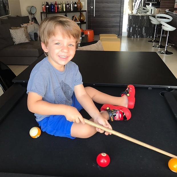 Antônio Martins, filho da Luma Costa (Foto: Reprodução/ Instagram)