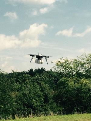 Drone da empresa Flirtey foi o primeiro a ser usado em uma entrega dentro dos Estados Unidos. (Foto: Divulgação/Flirtey)