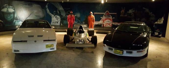 Pace Cars e Copersucar, os carros que restaram no Museu Fittipaldi (Foto: Divulgação)