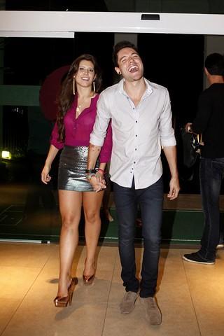 Andressa e Nasser (Foto: Marcos Serra Lima / EGO)