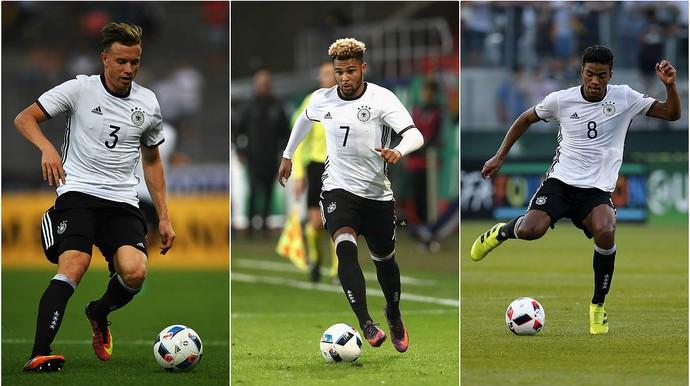 Alemães convocados - Alemanha (Foto: Reprodução/Twitter)