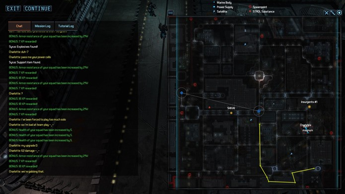 Com cenários enormes, as partidas de The Red Solstice apresentam uma série de missões primárias e secundárias que proporcionam pontos de experiência (Foto: Divulgação/Ironward)
