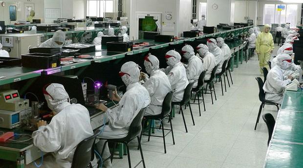 Fábrica da Foxconn na China (Foto: Steve Jurvetson / Wikimedia Commons)