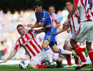 Oscar Chelsea x Stoke (Foto: Getty Images)