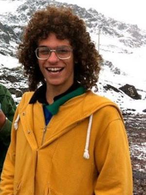 Artur Paschoali, jovem sumido no Peru em dezembro de 2012 (Foto: Facebook/Reprodução)